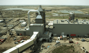 Boundary Dam CCS power plant in Canada