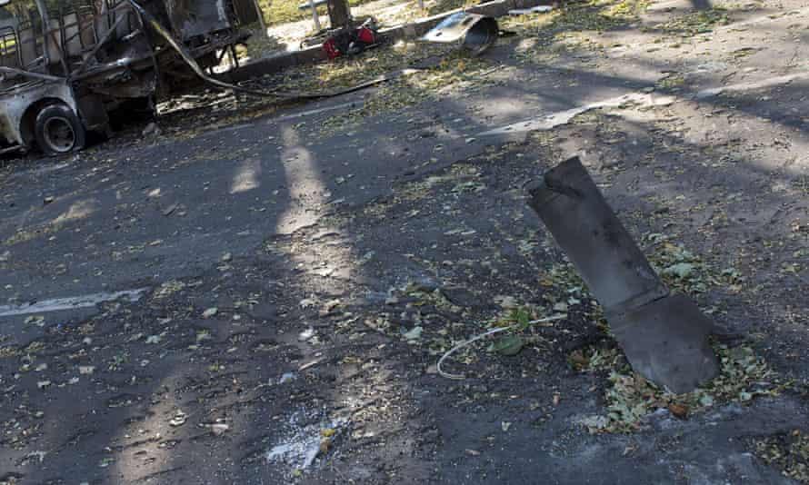 Donetsk shell
