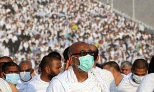 Muslim pilgrims arrive to take part in the Jamarat ritual