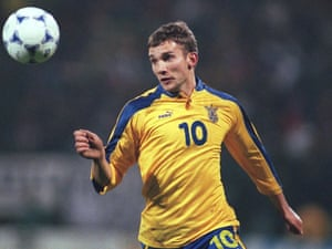 Andrei Shevchenko scored the goal which left Russia's players 'wanting to shoot themselves'.