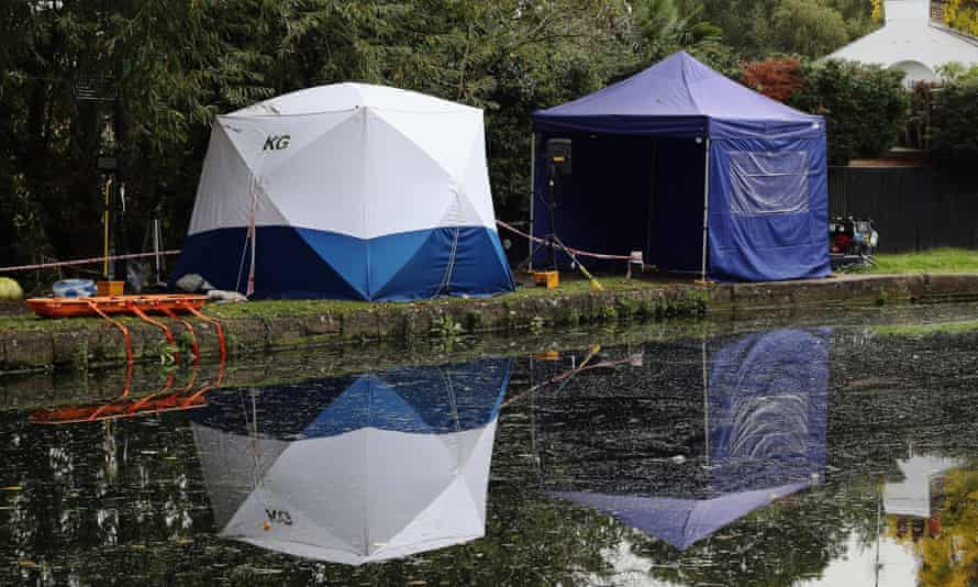 Forensic tents