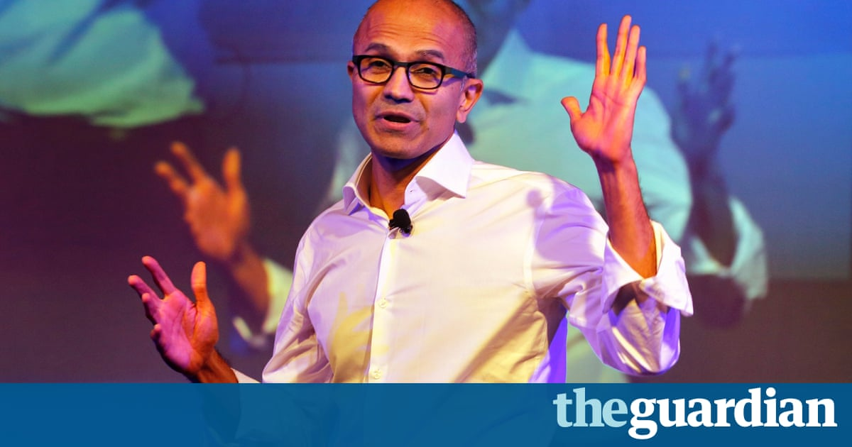 Microsoft ceo satya nadella women dont ask for a raise microsoft ceo satya nadella women dont ask for a raise technology the guardian ccuart Images