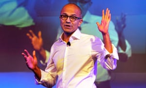 The Microsoft chief executive officer, Satya Nadella, says women don't need to ask for a raise.