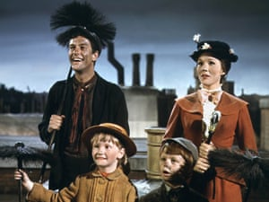 The way they were …as Bert the chimney sweep in Mary Poppins.