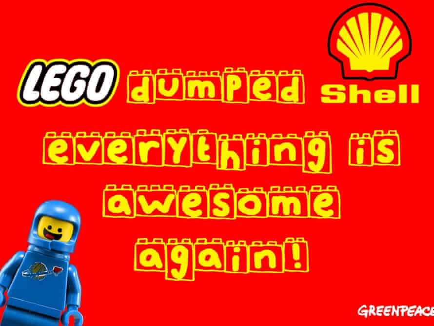 Greenpeace Lego advert