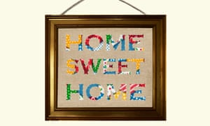 Attaching Wire To Picture Frame | How To Hang A Picture Life And Style The Guardian