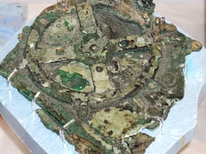 The Antikythera mechanism, a mysterious bronze device, was recovered in 1900.