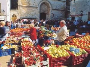 The market in Palma de Mallorca.