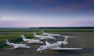 Gulfstream business jets. Tesco will sell its new G550 and the rest of its fleet, including a Hawker
