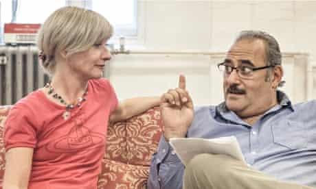 Jane Horrocks and Ayub Khan Din in East is East