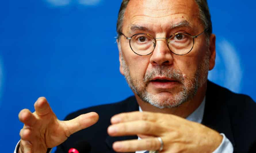 Peter Piot is among the authors of the letter, urging for fast testing of the Ebola vaccine.