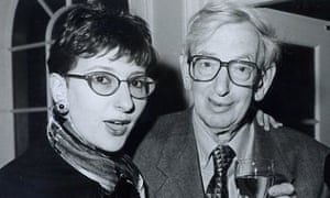 Julia Hobsbawm with her Marxist historian father Eric