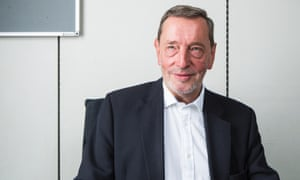 'I'm jumping out of the plane and hoping the parachute opens' ... David Blunkett in his office at Portcullis House. Photograph: David Levene for the Guardian