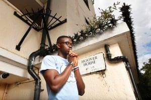 Ade Olatunde at home in Beckenham.