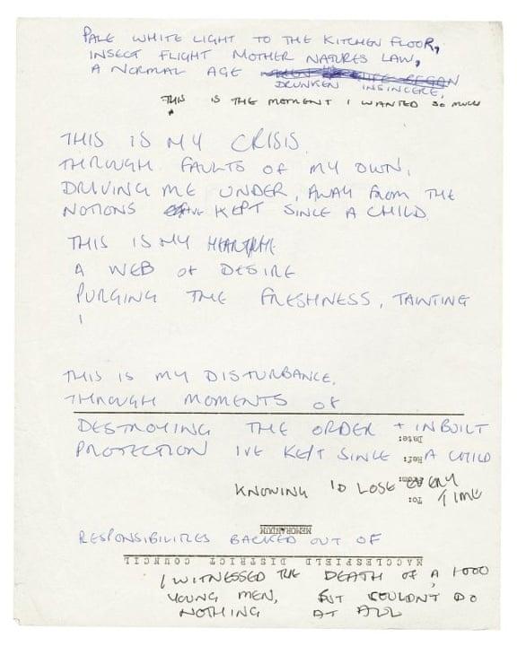 El origen de la poesía de Ian Curtis