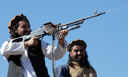 Taliban commander Hakimullah Mehsud  in the northwest Pakistan. Mehsud was killed in a drone attack in 2013.