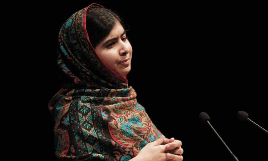 Malala Yousafzai says she feels more powerful and more courageous 'because this award is not just a piece of metal or a medal you wear or an award you keep in your room'.