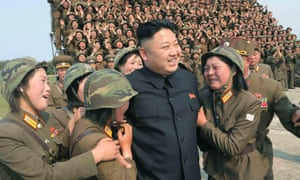 As the North Korean leader Kim Jong-un, seen above in a photograph released in April 2014, remains conspicuously absent from public life, it has been suggested that his sister Kim Yo-jong may have stepped up to manage the leadership.
