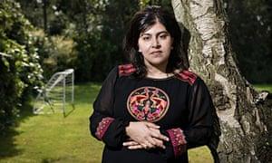 Sayeeda Warsi at home near Wakefield, Yorkshire