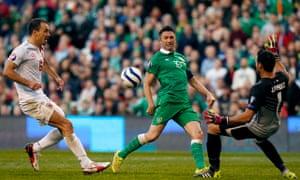 Ireland's Keane scores against Gibraltar in Dublin