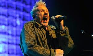 John Lydon: 'cantankerous'.