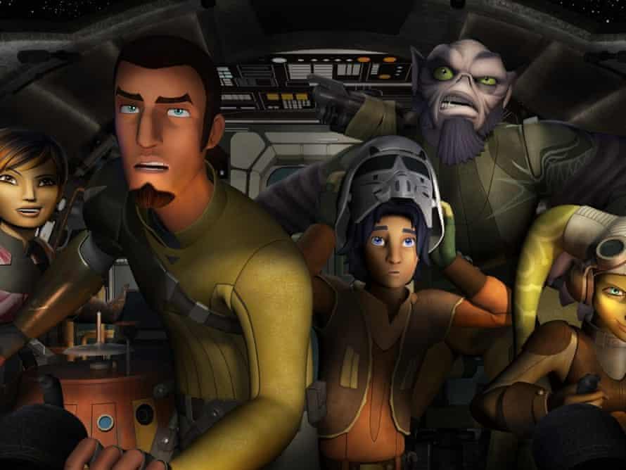 Star Wars Rebels is airing on TV ahead of the next Star Wars film.