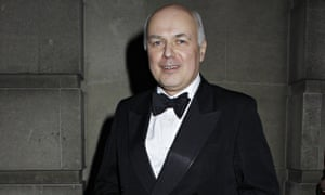 Iain Duncan Smith at the Conservative party 'black and white ball'
