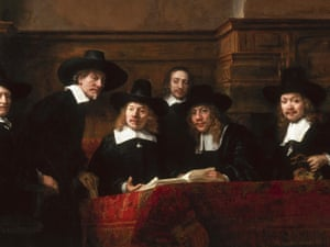 Rembrandt's The Syndics (1662).