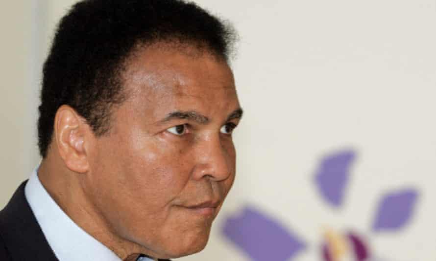 Muhammad Ali im 2005.