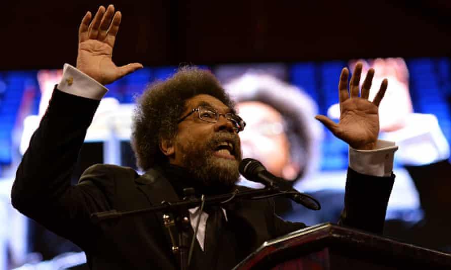 Cornel West speaks in St Louis