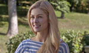 Very present ... Gone Girl, with Rosamund Pike, remains No 1 at the US box office.