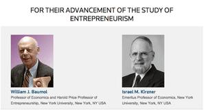 William J. Baumol and Israel M. Kirzner