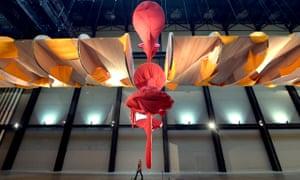 Richard Tuttle installation in the Turbine Hall