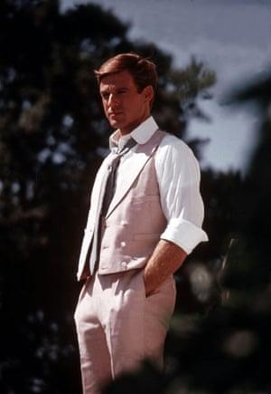 Robert Redford wears Ralph Lauren in the Great Gatsby (1974)