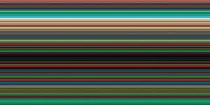 Strip , 2012 by Gerhard Richter
