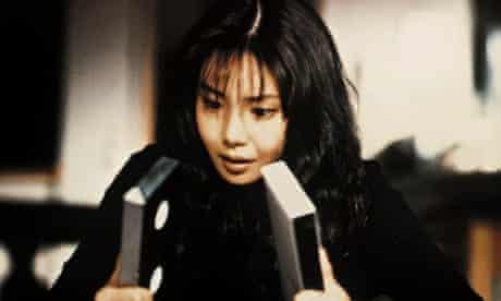 A still from 1998 Japanese film Ringu
