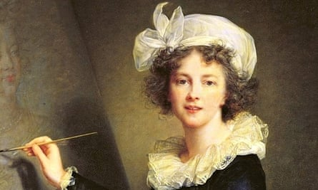 Just one smile … Mme Le Brun's outrage-inducing self portrait from 1787.