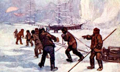 'The ships were called the Terror and the Erebus', 1847, (1905).Artist: A S Forrest