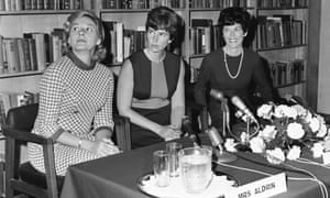The wives of the Apollo 11 astronauts held a press conference in the library of the U.S. Embassy in Grosvenor Square, London, Oct. 1969.  From left:  Joan Aldrin, Janet Armstrong and Pat Collins.