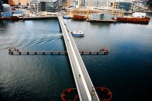 Brygge Bridge, Copenhagen, Denmark 2006