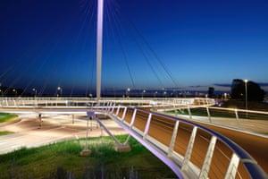Hovenring Bridge, Eindhoven, The Netherlands 2012