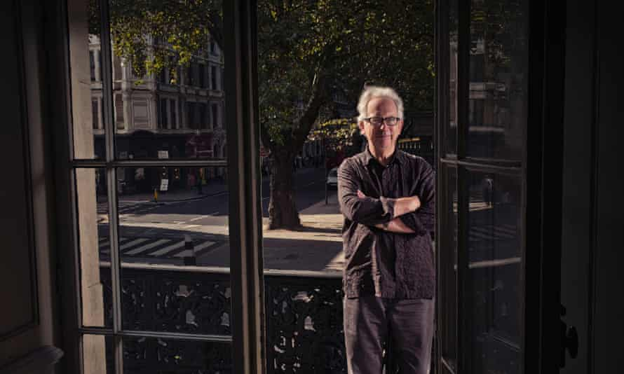 Peter Carey, pictured in London.