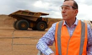 Tony Abbott mining