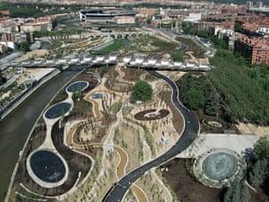 Arganzuela Footbridge, Madrid, Spain 2011