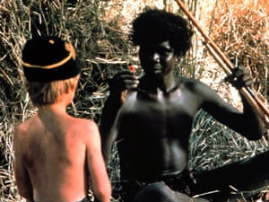 Luc Roeg and David Gulpilil in Walkabout (1971)