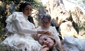A scene from Peter Weir's 1975 film Picnic at Hanging Rock.