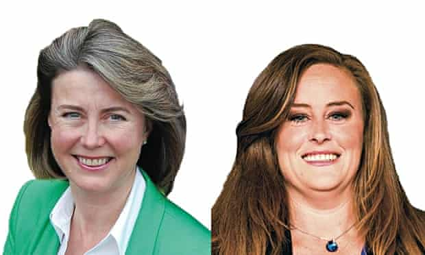 Candidates Anne Firth and Kelly Tolhurst
