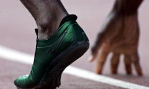 Michael Johnson's foot