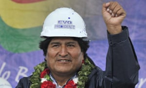 Evo Morales has proved that socialism doesn't damage economies | Ellie Mae O'Hagan | Opinion | The Guardian