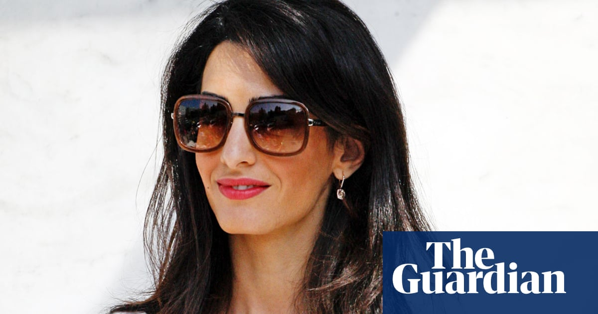 Amal Alamuddin or Mrs Amal Clooney? By George, who knows